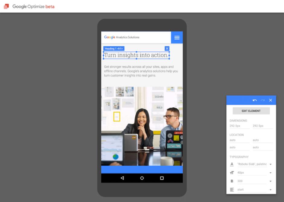 google-optimize-beta