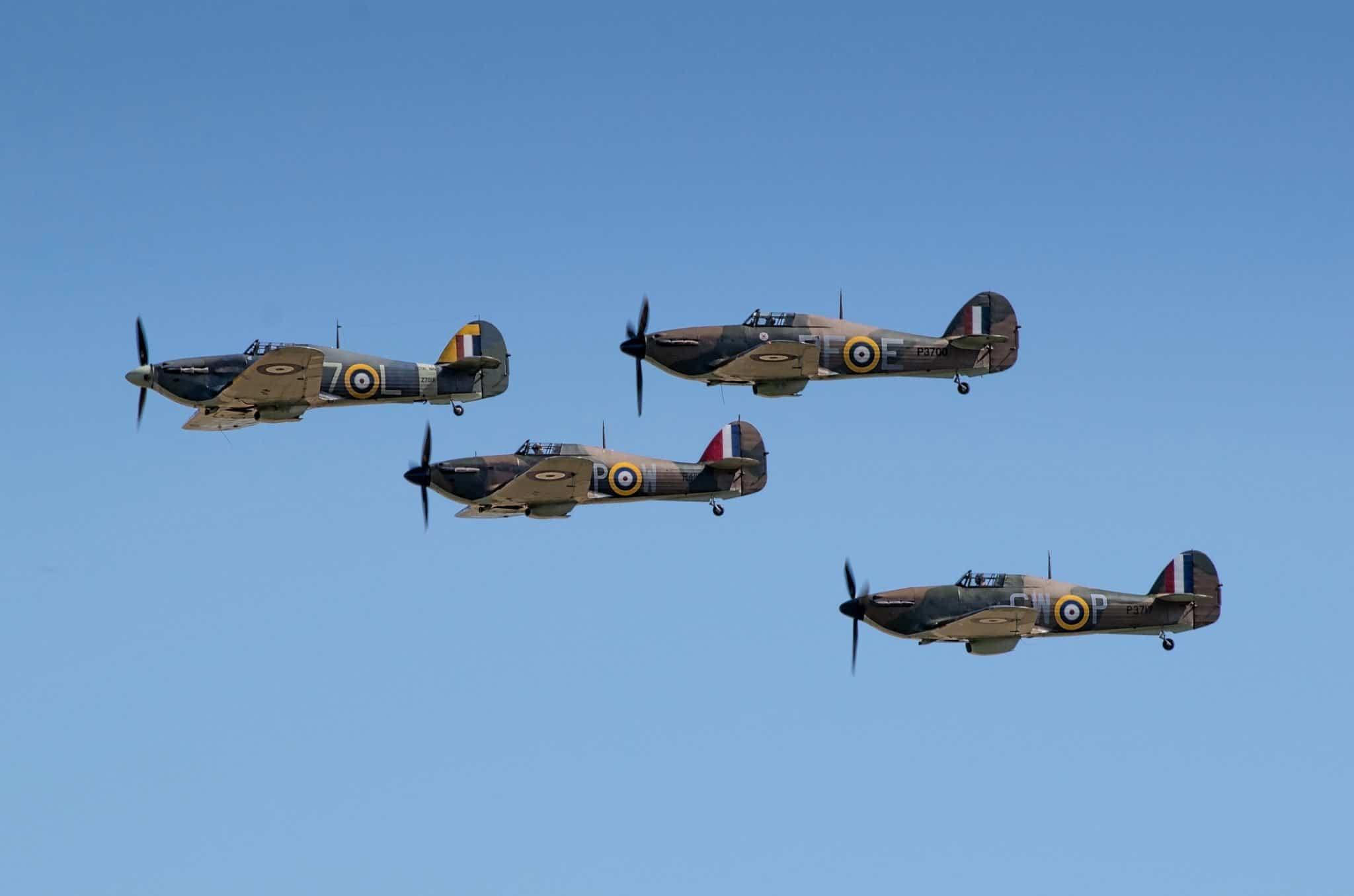Spitfire planes